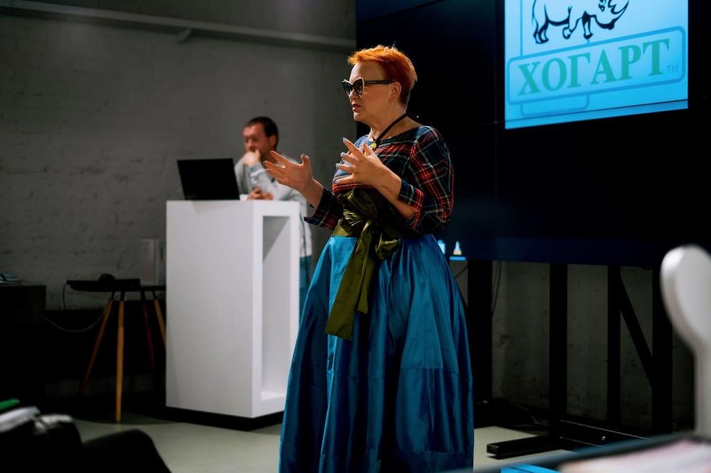 В ХОГАРТ_арт прошел обучающий семинар на котором выступили партнёры компании Хогарт